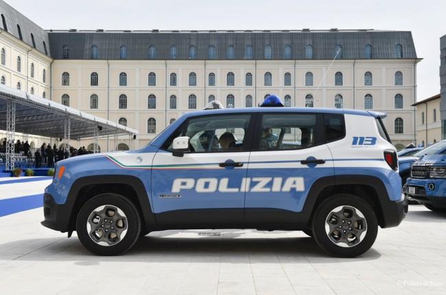 Renegade e Discovery Sport per la Polizia di Stato