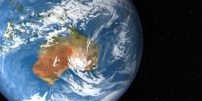 l'Australia scivola via