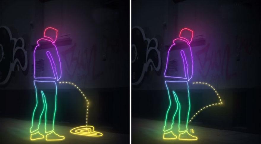 Come evitare che degli ubriachi uninino sui muri