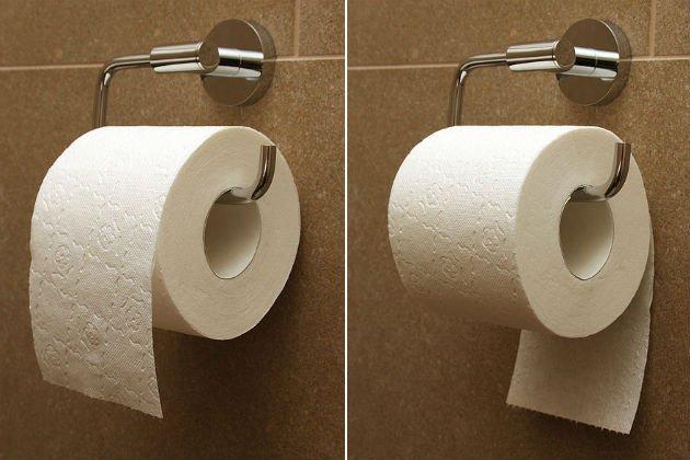 La carta igienica rivela la tua personalità. Ecco come